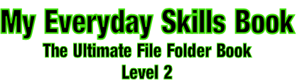My Everyday Skills Book